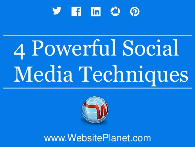 4 Powerful Social Media Techniques you would love (and share…)