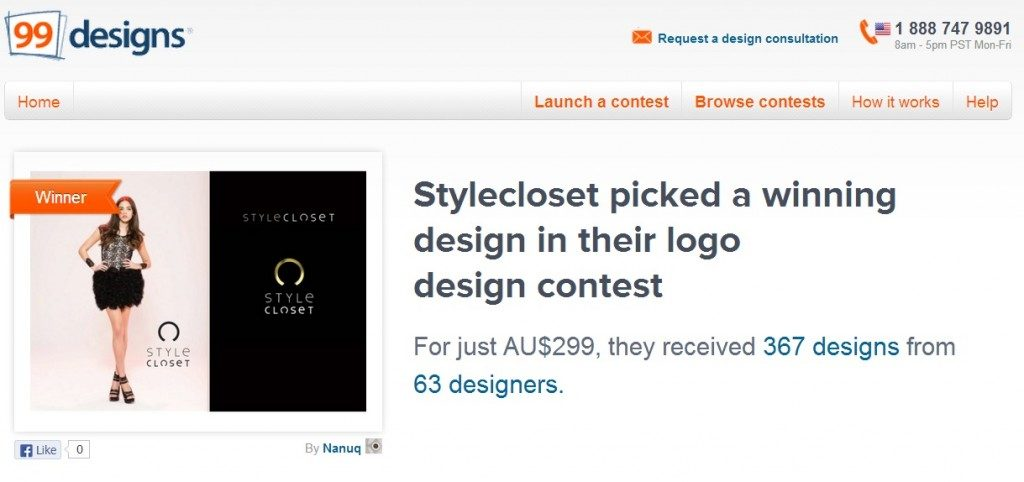 99designs Case Study – How Stylecloset Chose Their New Logo Out of 367 Designs