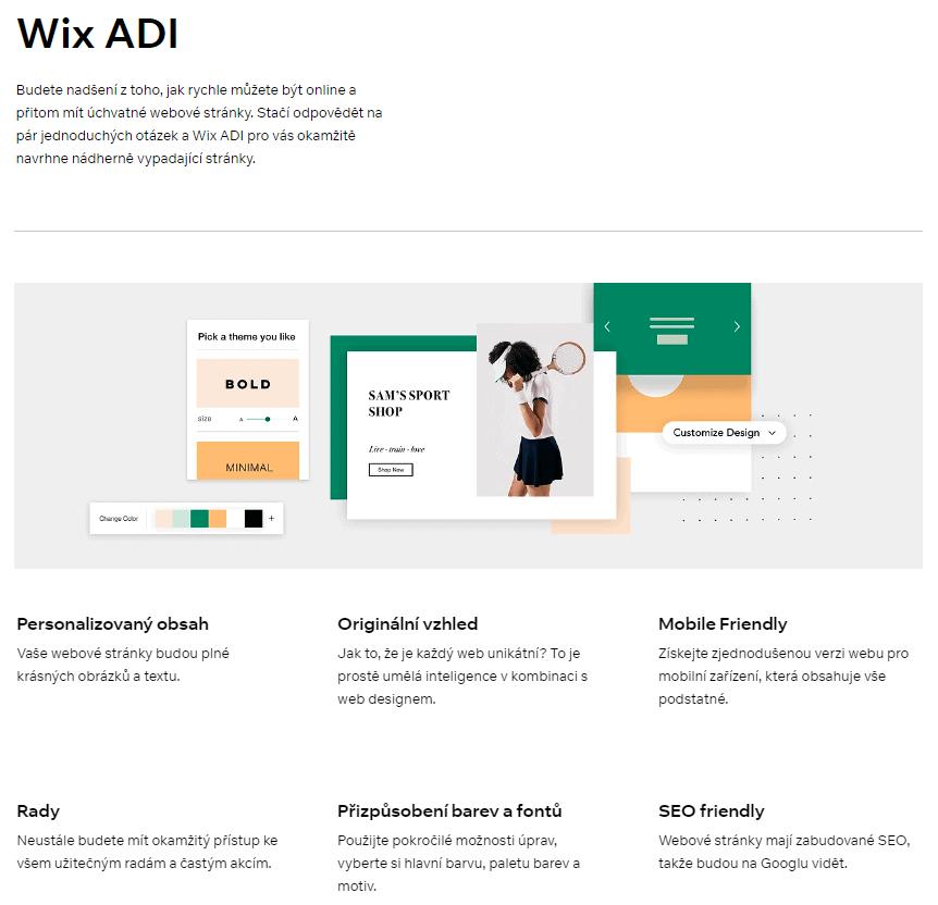Wix ADI set up questions