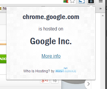 hosting info