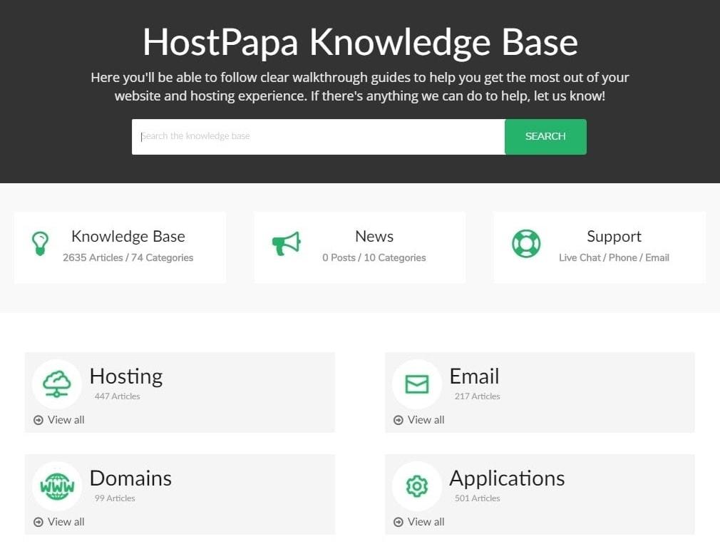 HostPapa Knowledge Base