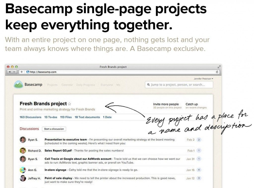 5 Reasons You Should Start Using Basecamp Today
