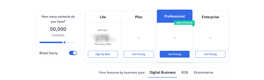 """he pricing page """"bug"""""""