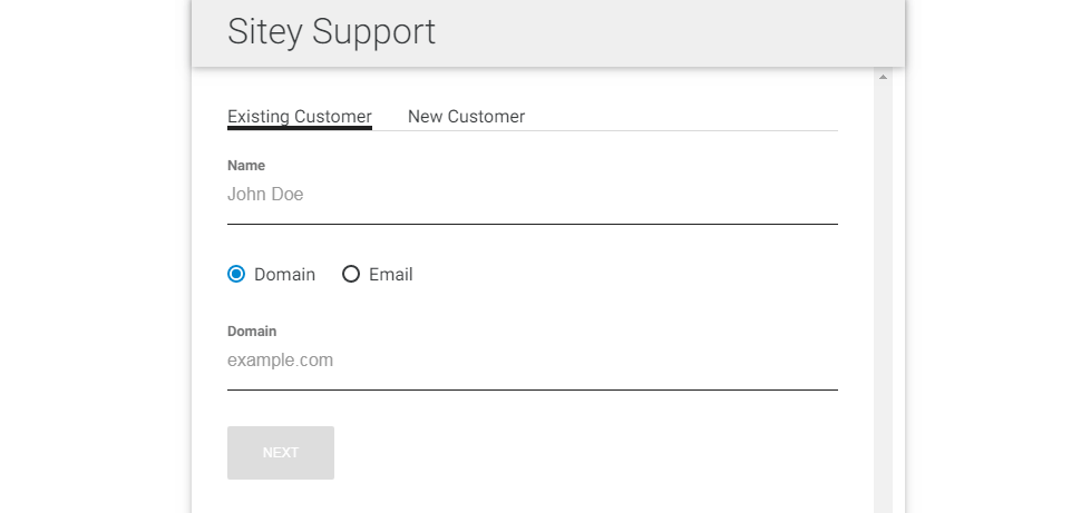 sitey-support