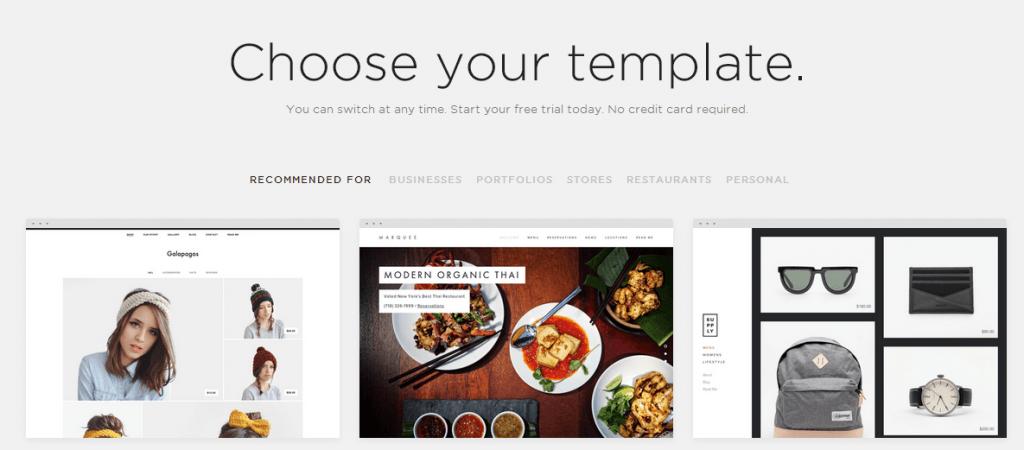 Squarespace Templates - How Do You Choose One? - Website Planet