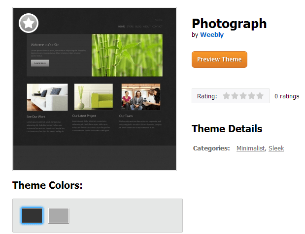 Weebly Themes: The Good, Bad & Ugly