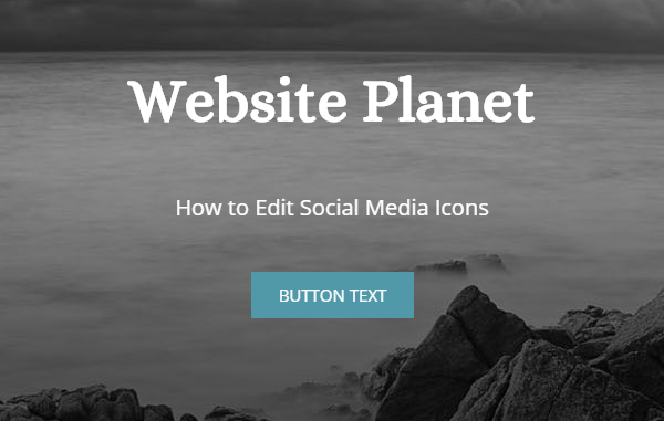 How to Edit Social Icons in Weebly