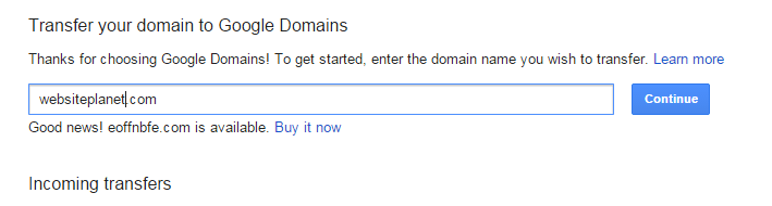 Google Now Offer a Domain Registration Service & It's Brilliant