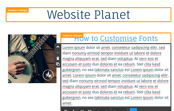 How to Easily Customize and Style Fonts in Jimdo's Web Builder