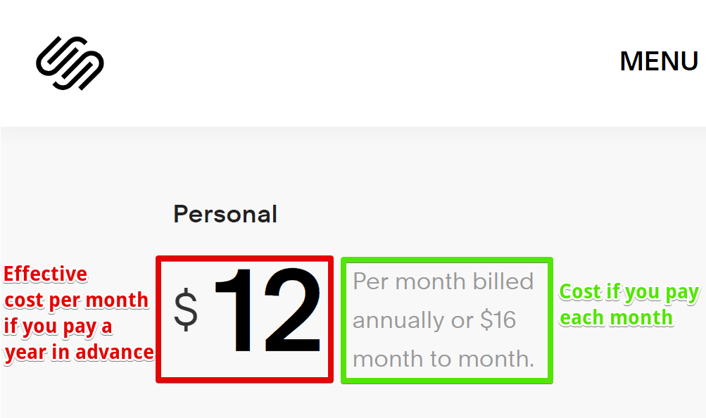 Squarespace Pricing - Stuff to Remember Before Buying-image1