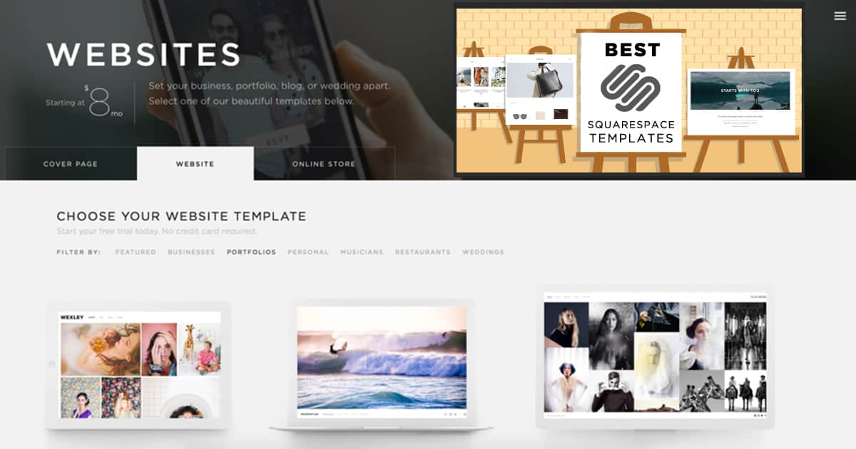 Squarespace Templates The Good The Bad And The Meh