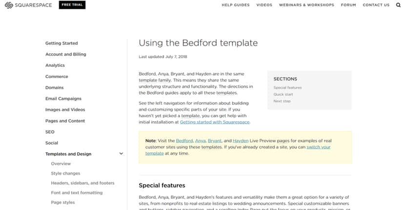 "Squarespace Templates – the Good, the Bad, and the ""Meh"""