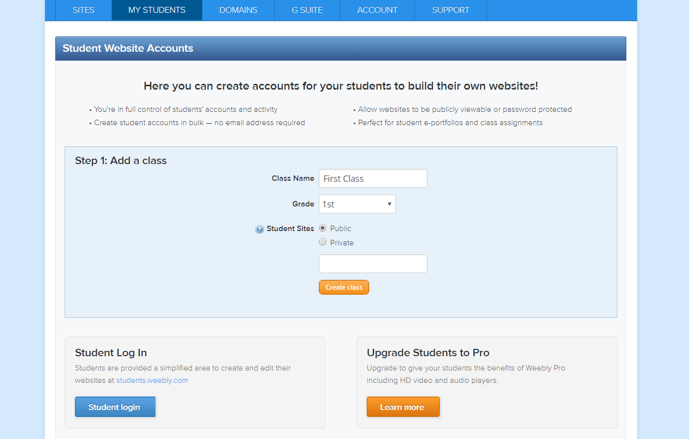 What Is Weebly for Education-image1
