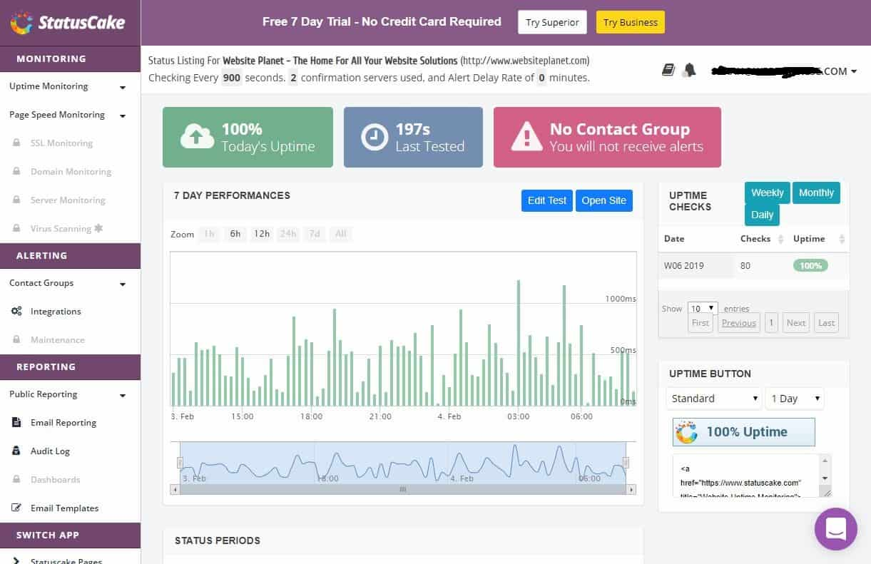 The Best STILL FREE Website Monitoring Tools (Now That Pingdom Is No Longer Free)