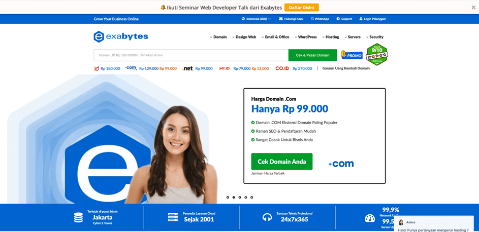 Exabytes Indonesia review