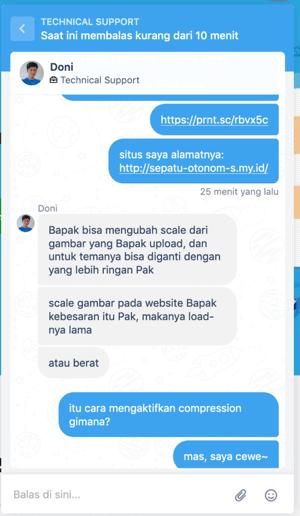 support exabytes Indonesia