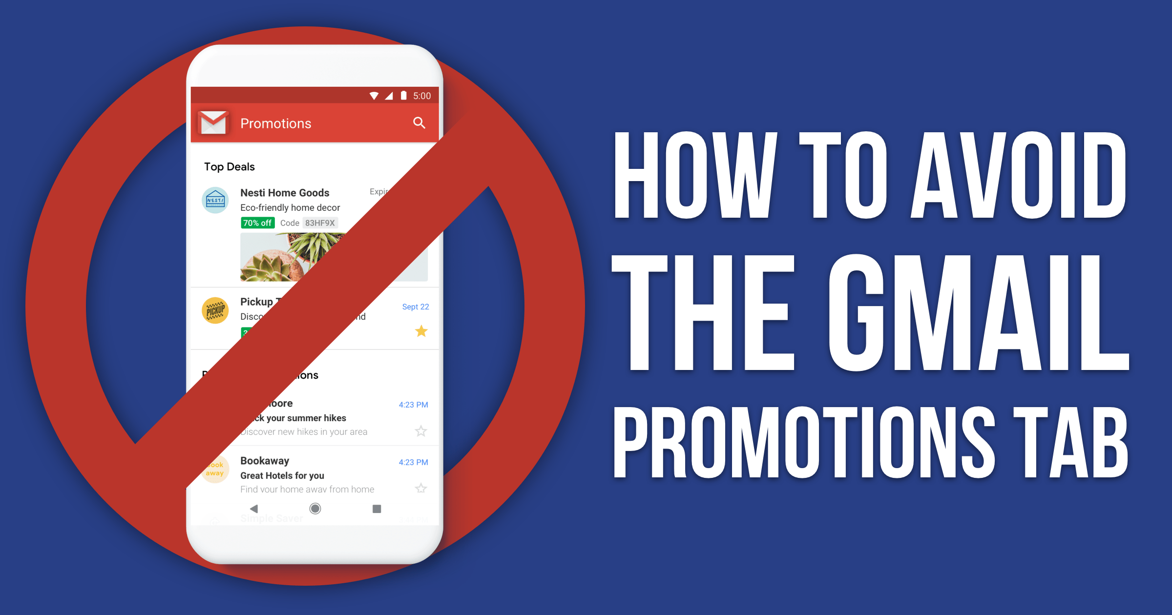 11 Tested Ways to Avoid Gmail's Promotions Tab in 2019