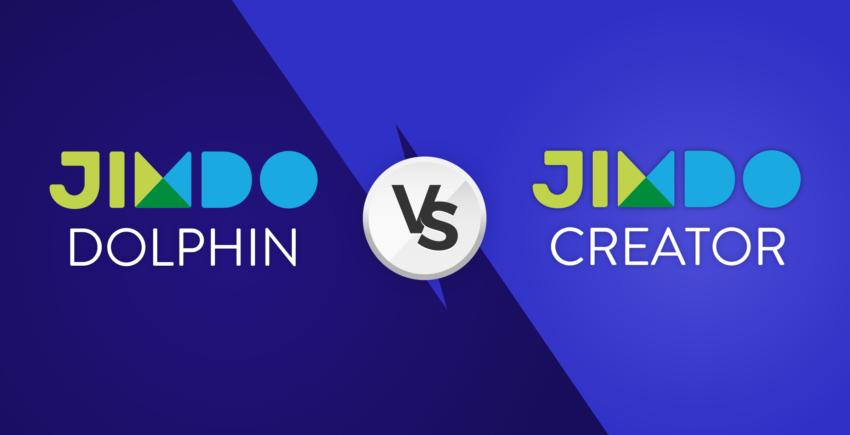 Jimdo Dolphin vs Jimdo Creator
