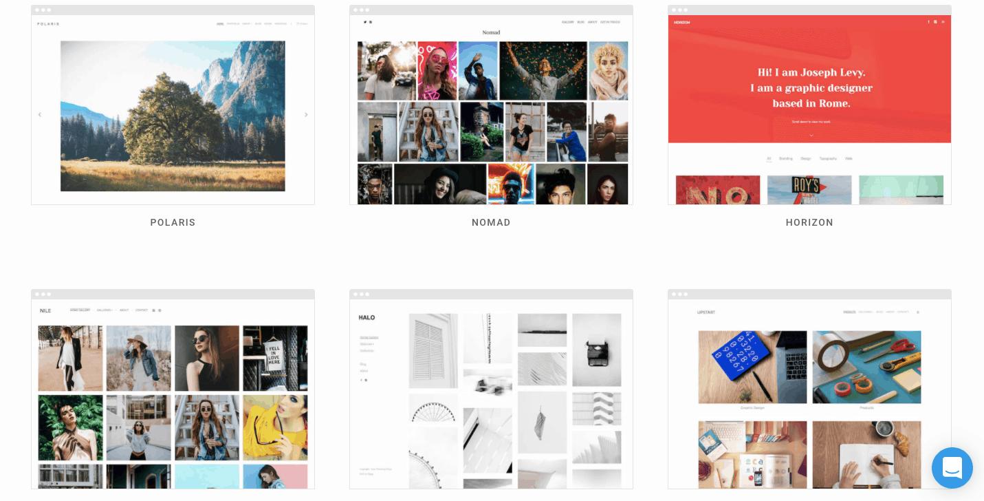Pixpa themes
