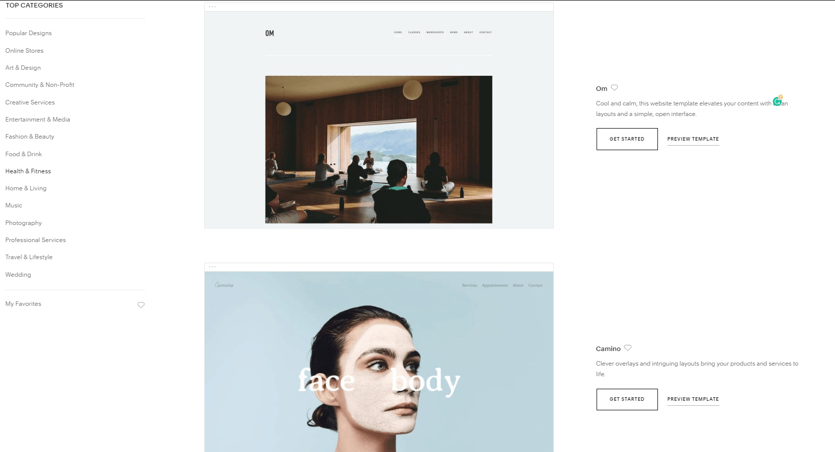 Wix vs. Squarespace - 6 Key Aspects Compared-image2