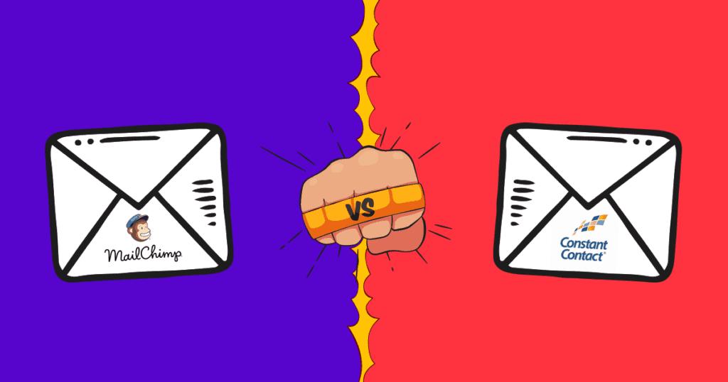 Constant Contact vs. MailChimp – Uusi vertailu vuodelle 2019 (Yksi selkeä voittaja)