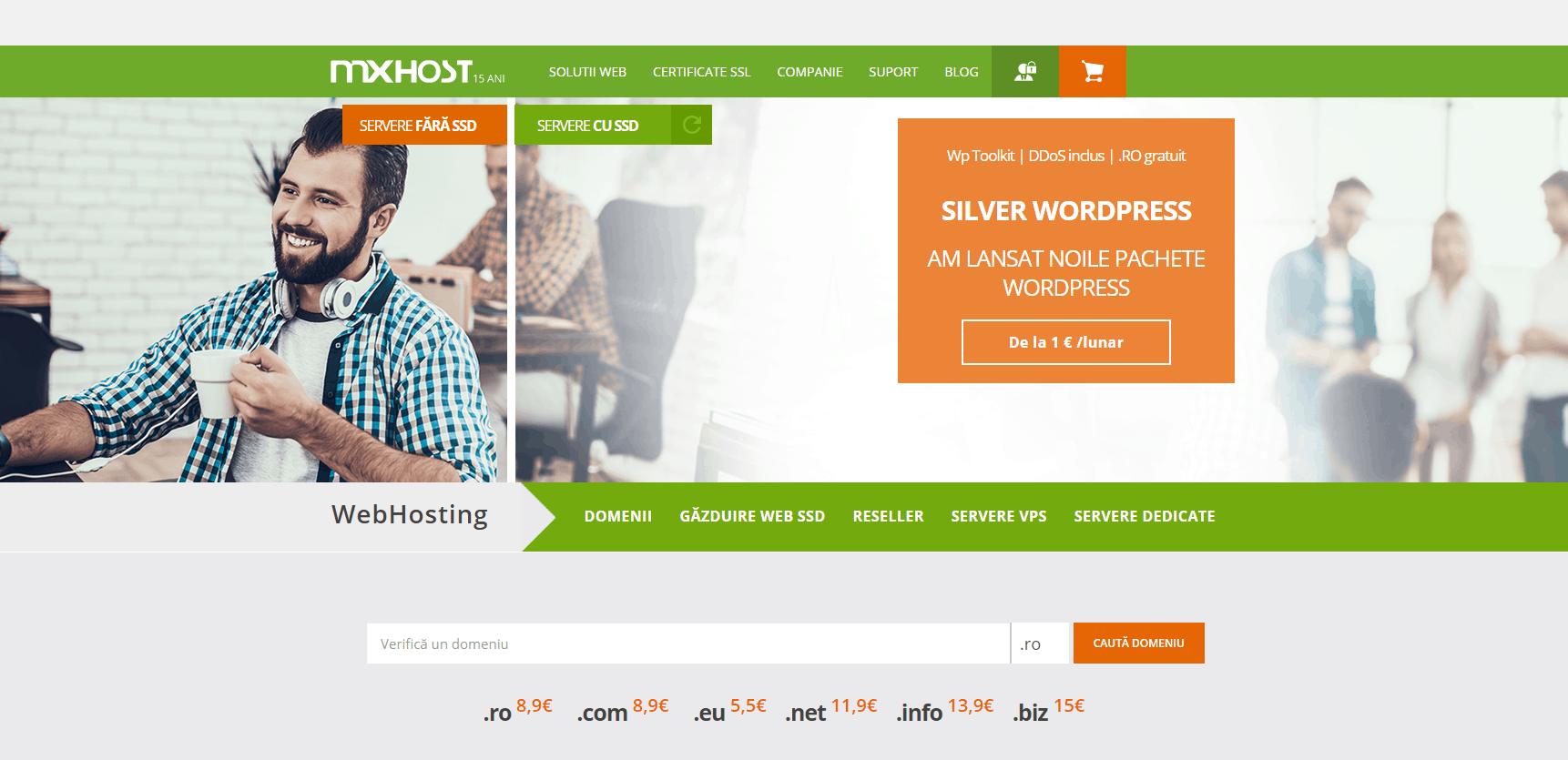 Recenzie găzduire web Mxhost