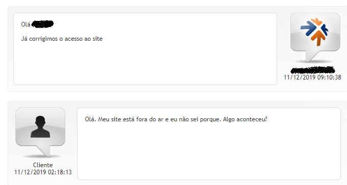 atendimento ao cliente chat Locaweb