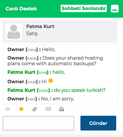 turkticaret-support