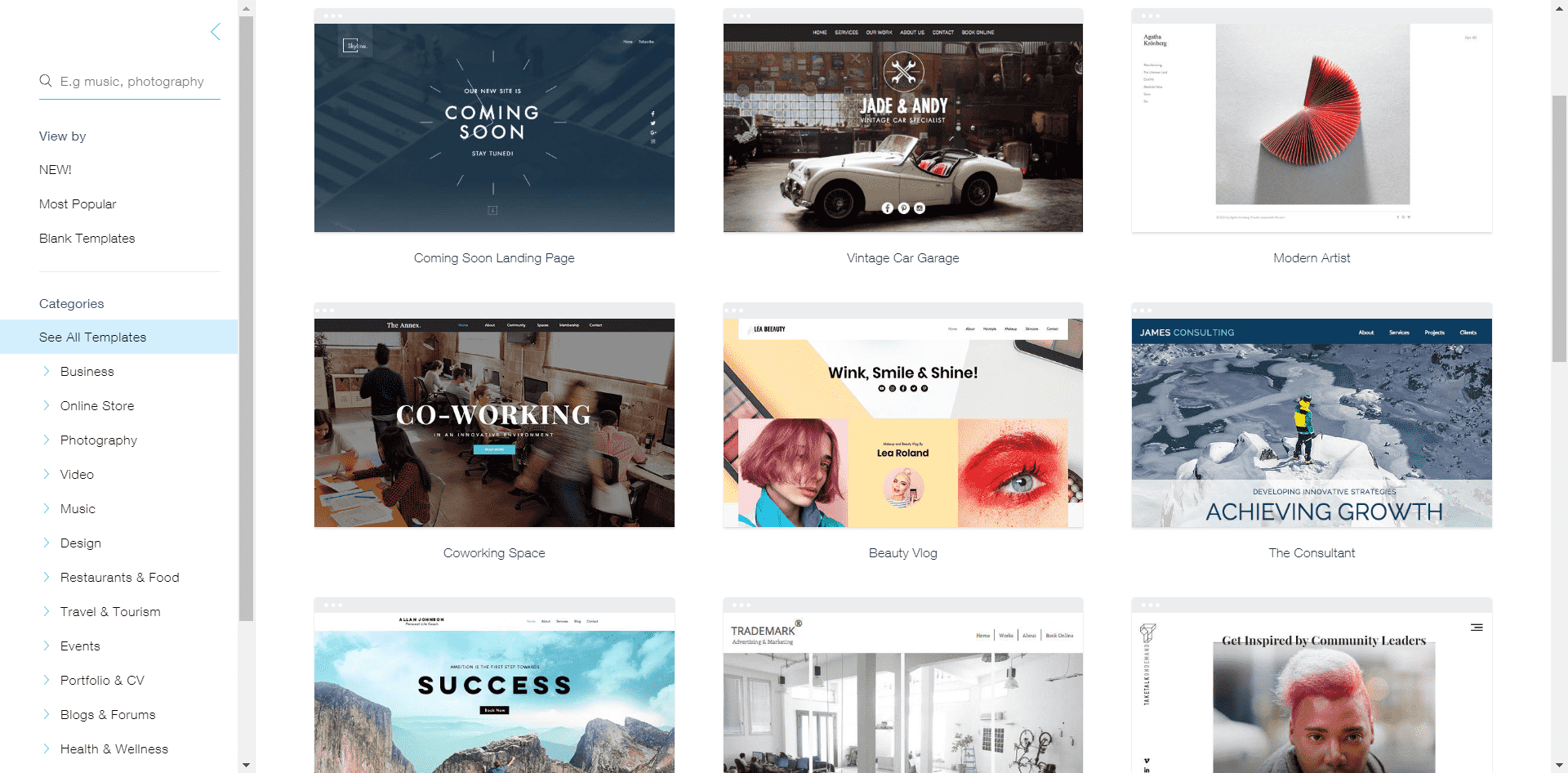 Wix & Weebly