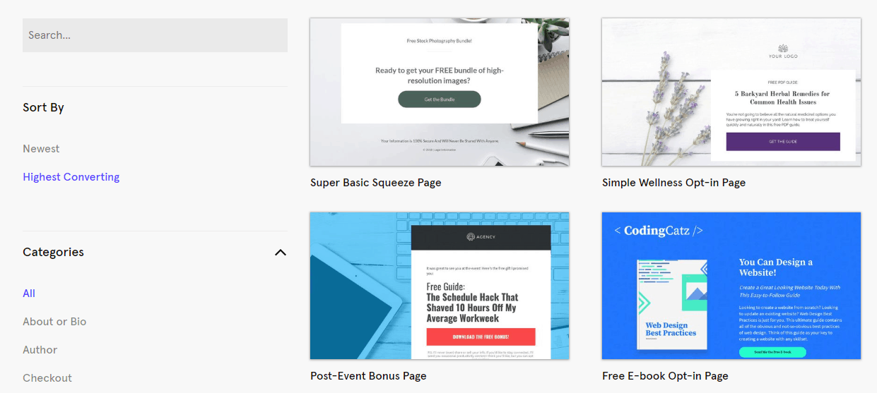 Best (REALLY FREE) Landing Page Builders-image39
