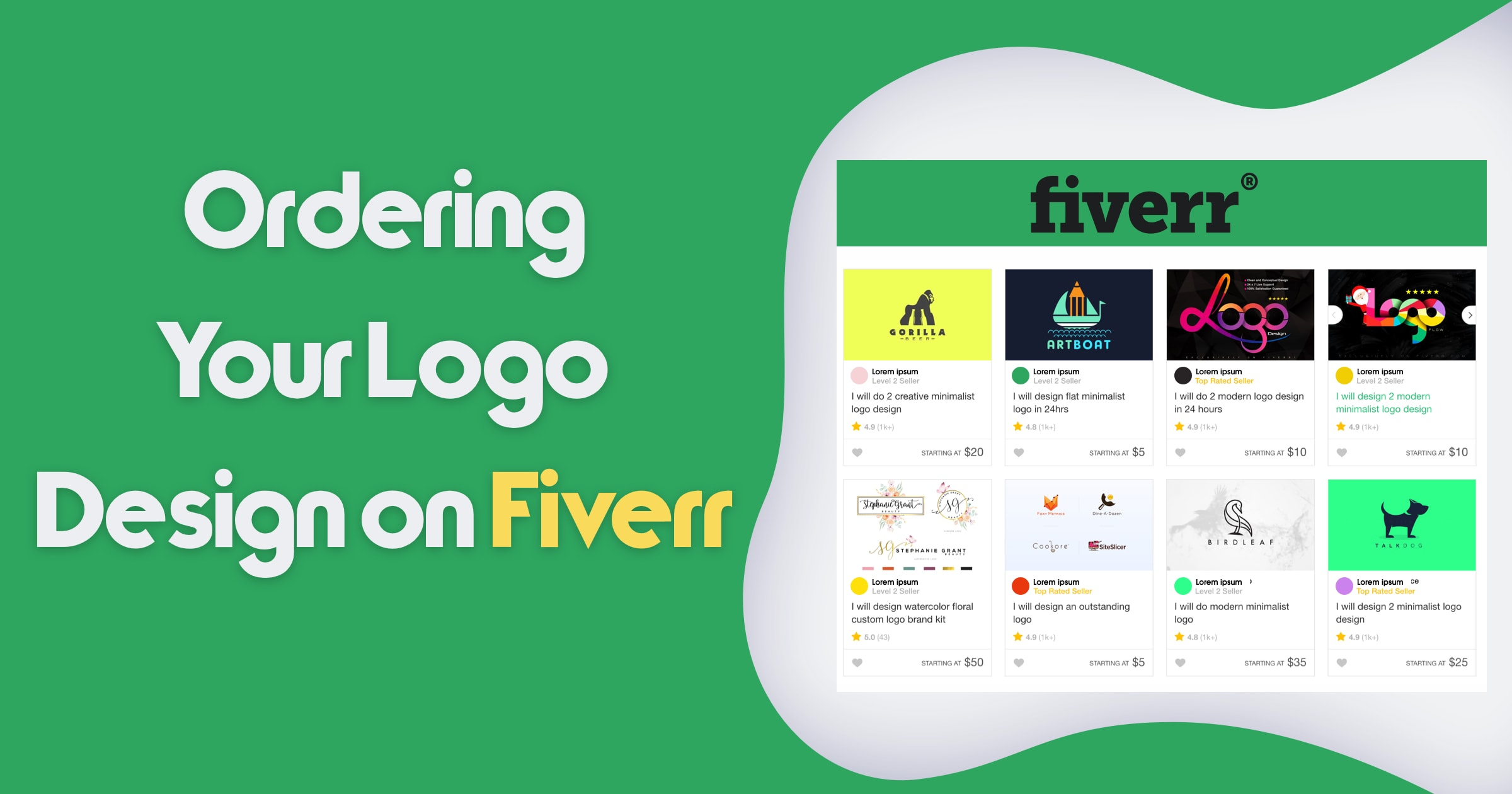 How To Outsource Logo Design On Fiverr?