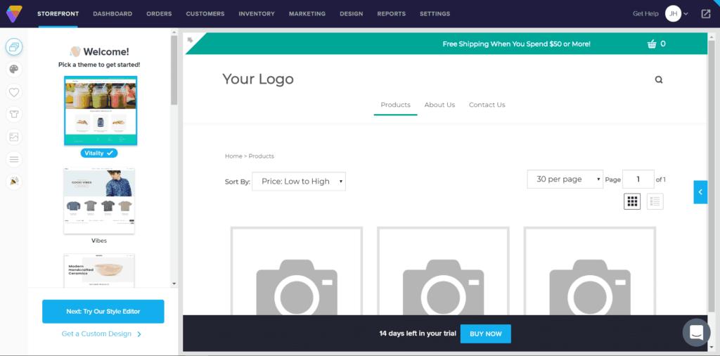 Die besten Website Builder für E-Commerce Webseiten