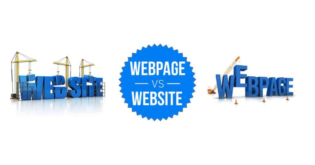 Веб-сайт vs. веб-страница – Есть ли разница?