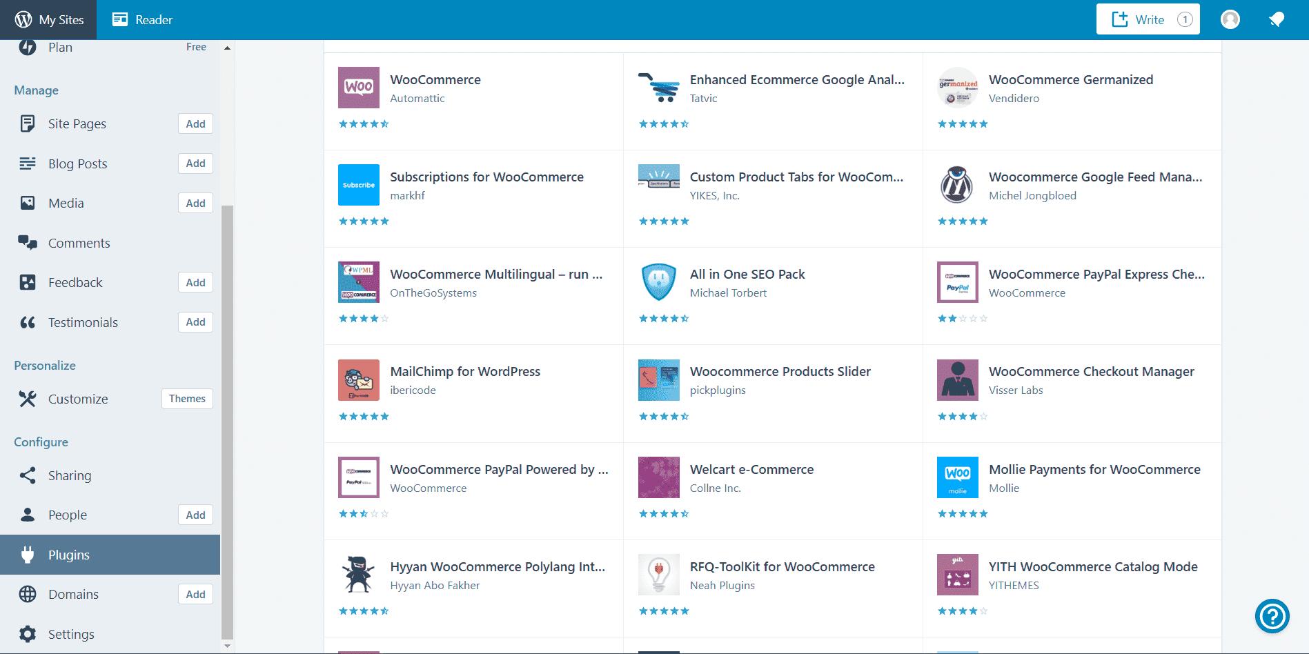 Лучшие конструкторы сайтов для электронной коммерции