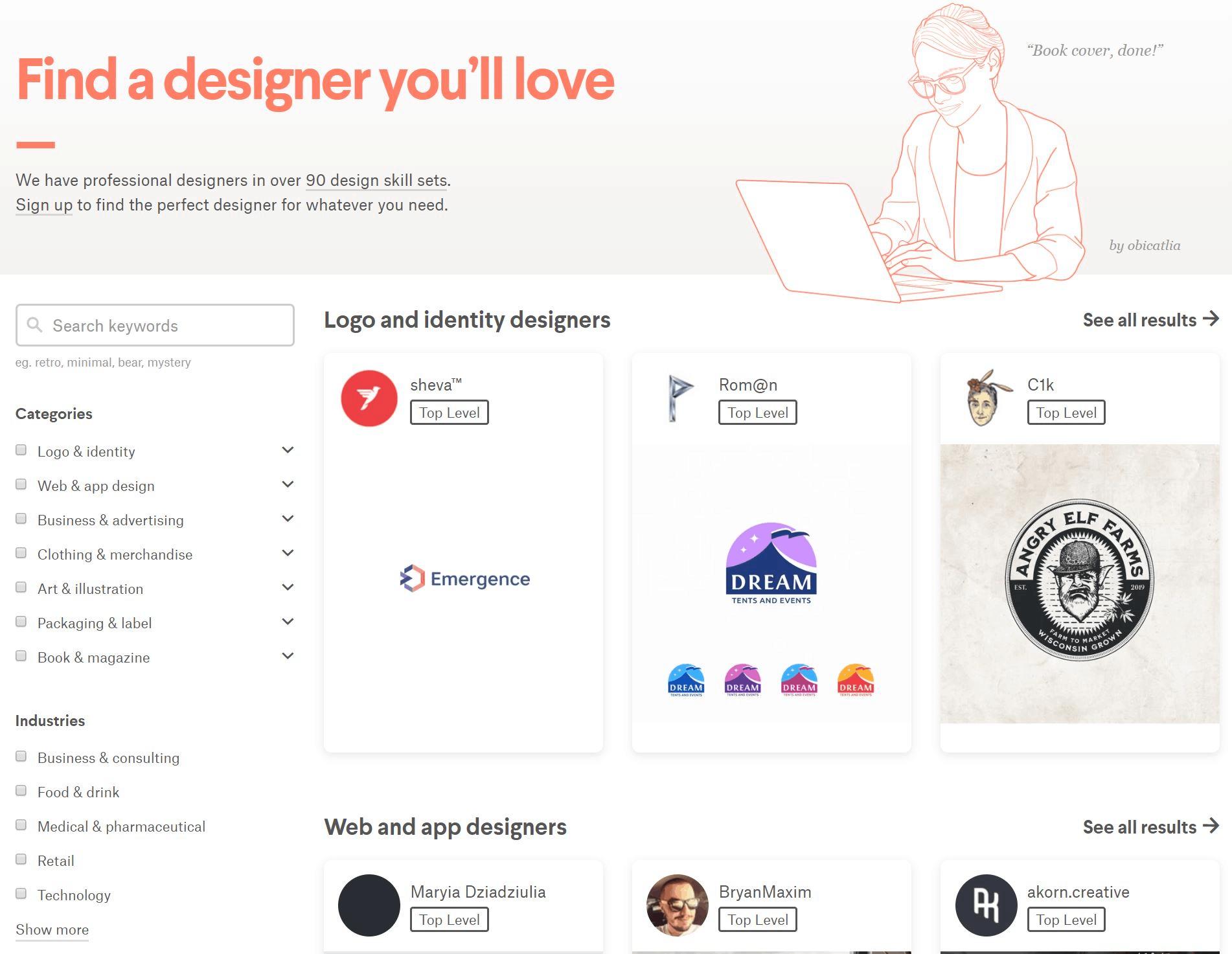99designs graphic designer