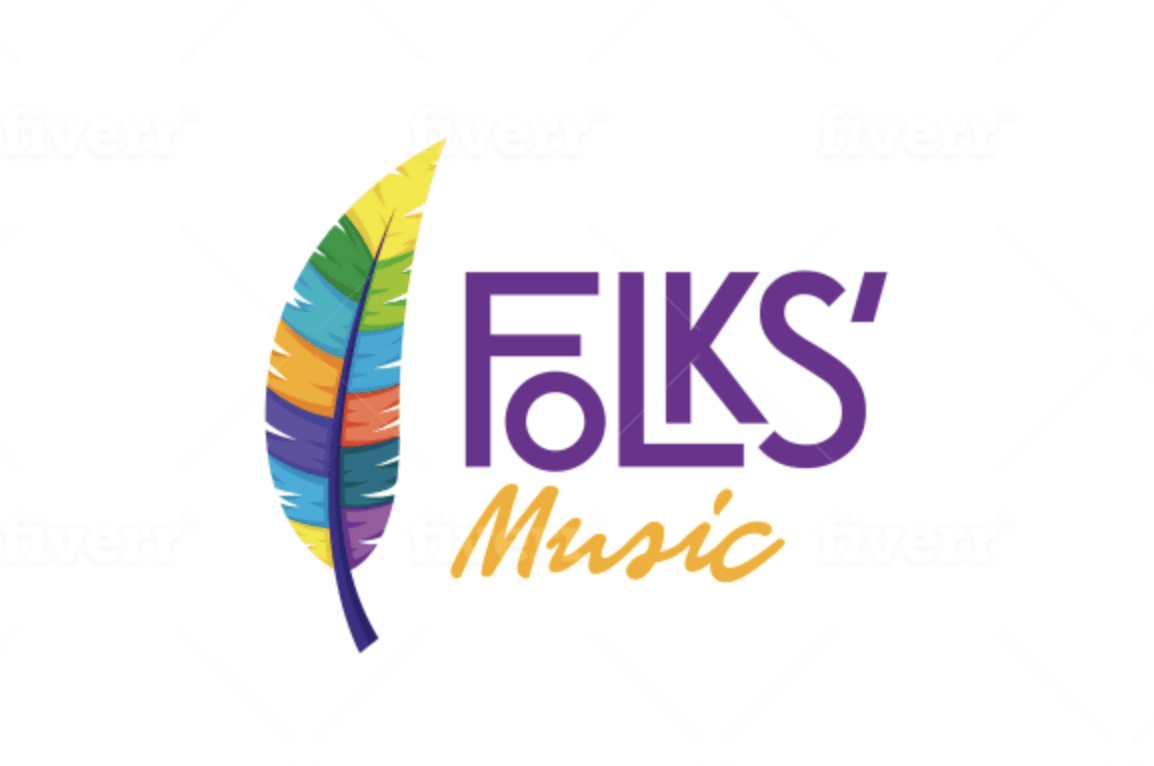 Logo Design on Fiverr - Folks' Music