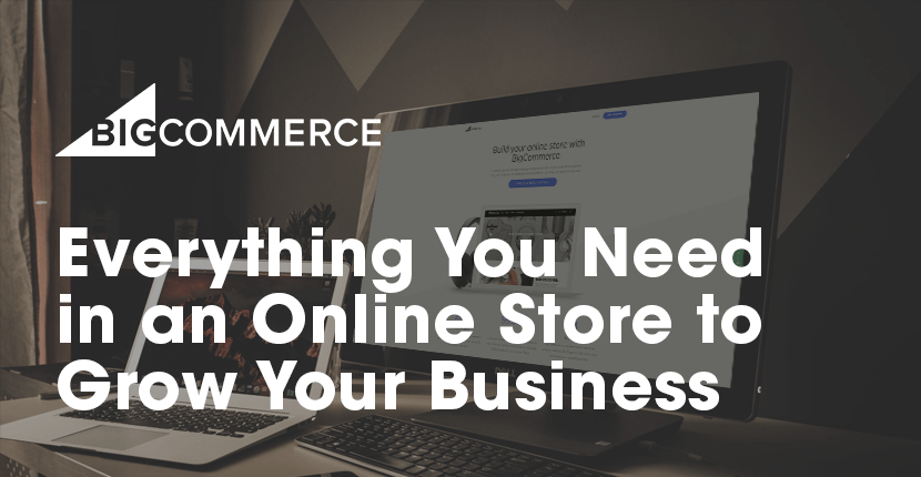build your website on bigcommerce