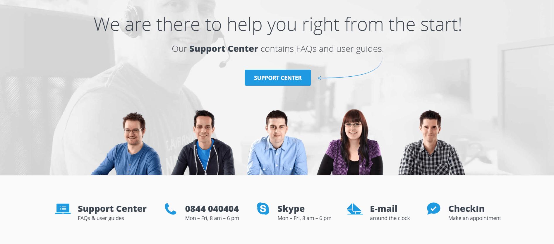 HostPoint-support