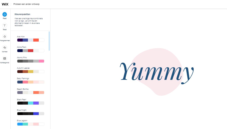 Wix Logo Maker screenshot - More designs for your logo