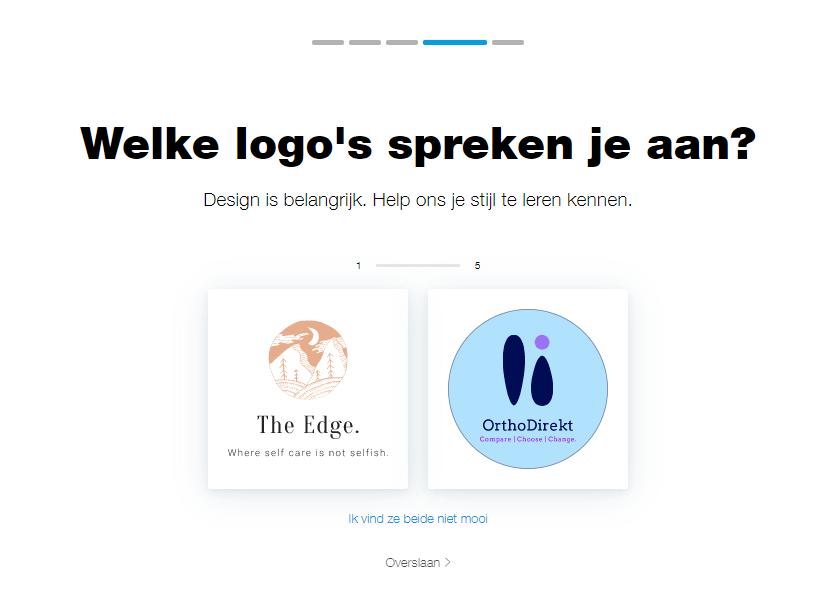 Wix Logo Maker screenshot - Choose your style