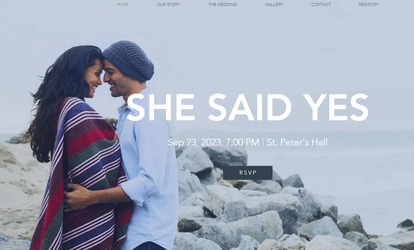 6 bedste (rigtig gratis) webside builders til bryllupsmeddelelser i 2019
