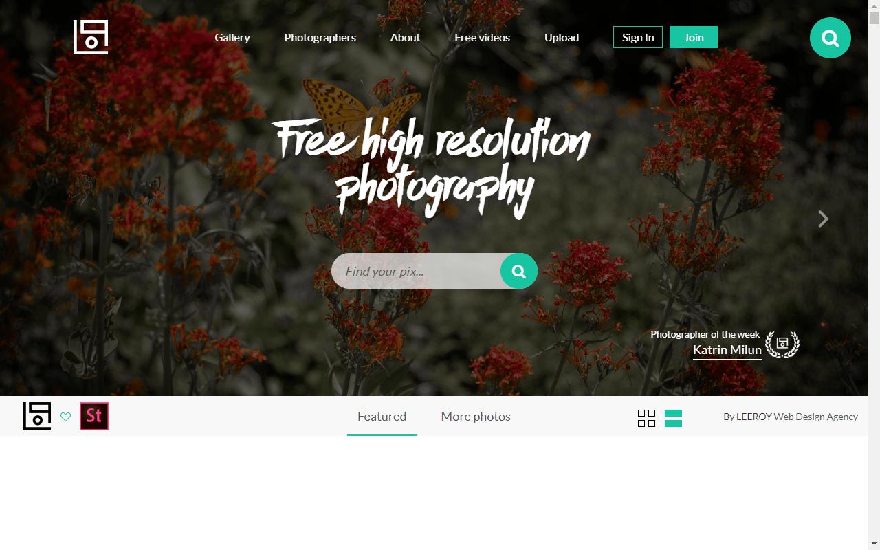 20 melhores sites para encontrar fotografias de stock gratuitas
