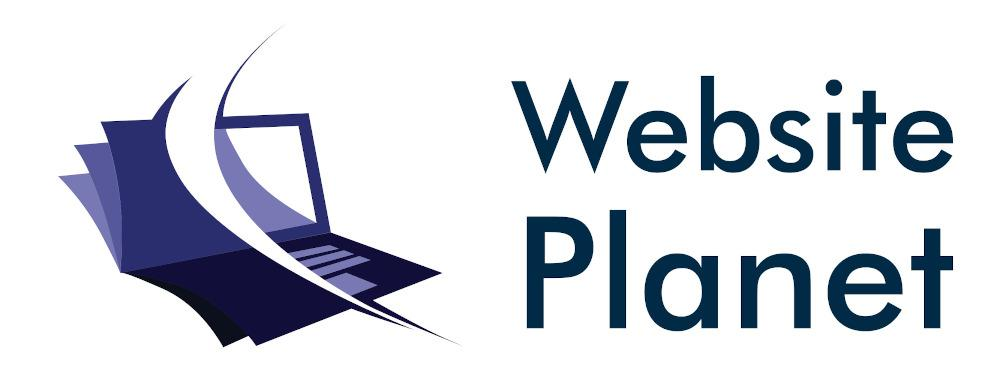 Website Planet logo, created with LogoMaker