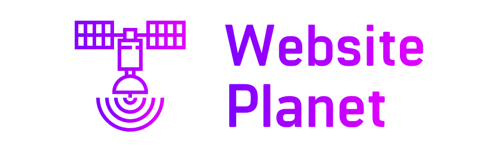 Website Planet logo - created by Looka