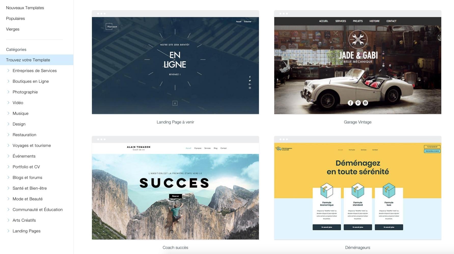 Voici 9 étapes simples pour créer votre site web Wix en 2020 (avec des images)