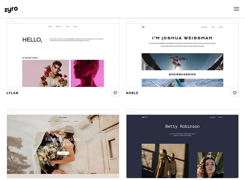 zyro-website-templates