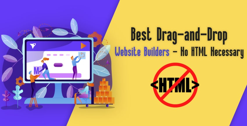 6 Absolute Best Drag & Drop Website Builders in 2019 [5 ARE FREE]