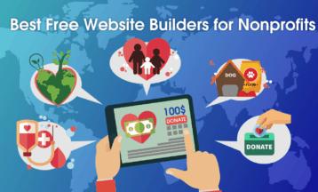 6 créateurs de site Web à but non lucratif GRATUITS – 2020