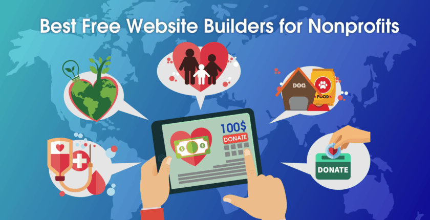 6 Best (REALLY FREE) Website Builders for Nonprofits in 2020
