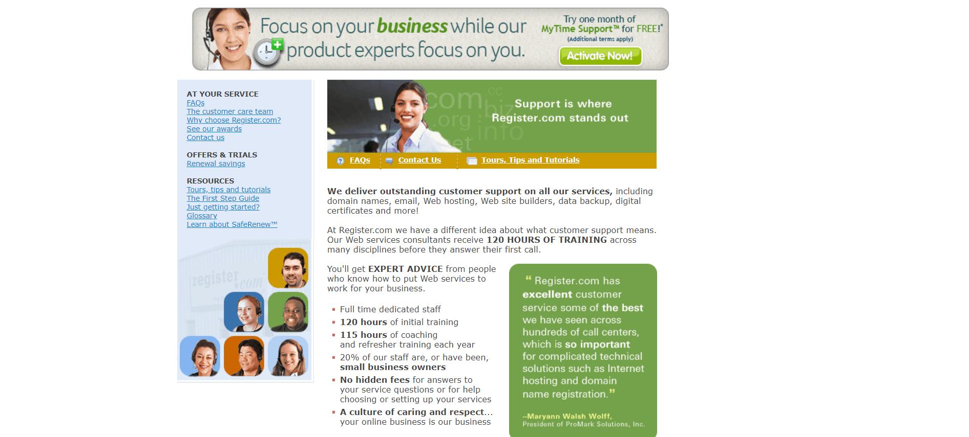 Register.com-support